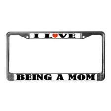 Fun Mom License Plate Frame