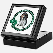 Irish Beagle Keepsake Box
