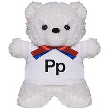 Helvetica Pp Teddy Bear