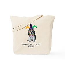 Beagle Mardi Gras Tote Bag