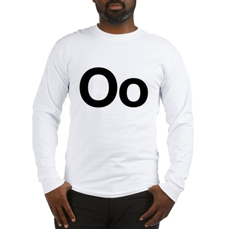 Helvetica Oo Long Sleeve T-Shirt