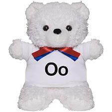 Helvetica Oo Teddy Bear