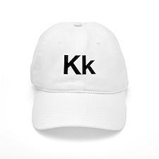 Helvetica Kk Baseball Cap