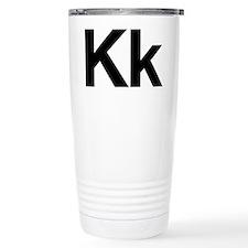 Helvetica Kk Travel Coffee Mug