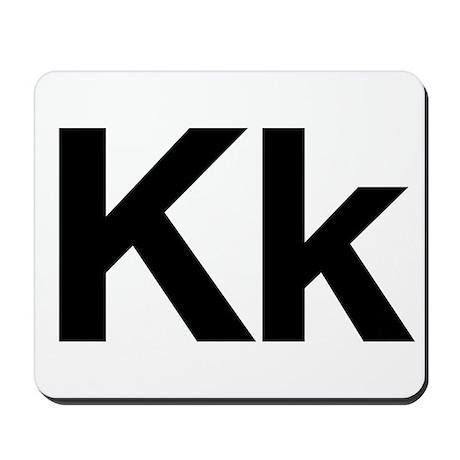 Helvetica Kk Mousepad
