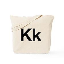 Helvetica Kk Tote Bag