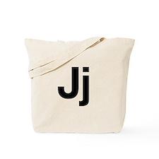 Helvetica Jj Tote Bag