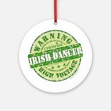 Certified Irish Dancer Ornament (Round)