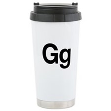 Helvetica Gg Travel Mug