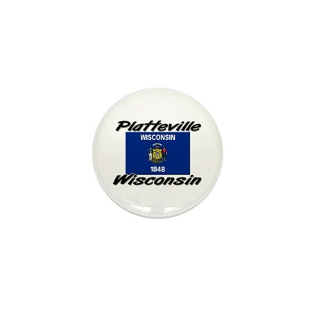 Platteville Wisconsin Mini Button (10 pack)