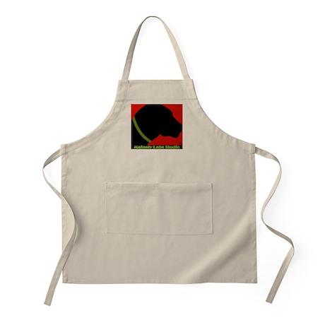 Black lab Profile BBQ Apron w/Logo