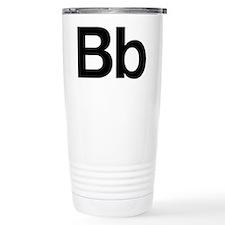 Helvetica Bb Travel Mug
