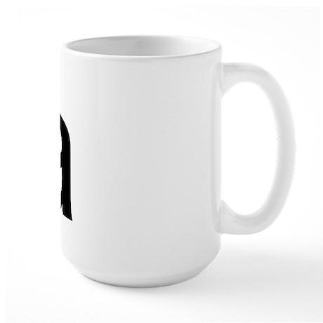 Helvetica Aa Large Mug