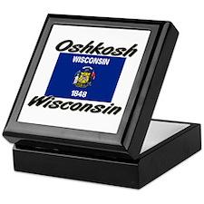 Oshkosh Wisconsin Keepsake Box