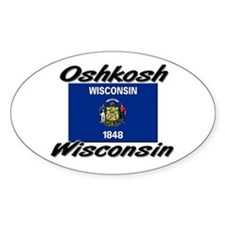 Oshkosh Wisconsin Oval Decal