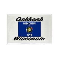 Oshkosh Wisconsin Rectangle Magnet