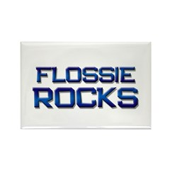 flossie rocks Rectangle Magnet (10 pack)