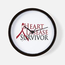Heart Disease Survivor (2009) Wall Clock