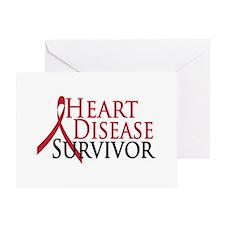 Heart Disease Survivor (2009) Greeting Card
