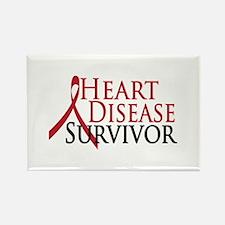 Heart Disease Survivor (2009) Rectangle Magnet