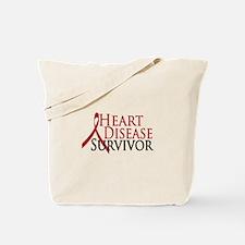 Heart Disease Survivor (2009) Tote Bag