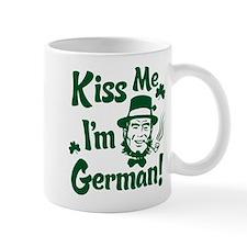 Kiss Me I'm German Small Mug