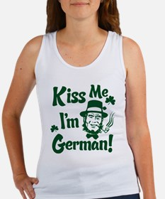 Kiss Me I'm German Women's Tank Top