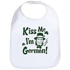 Kiss Me I'm German Bib