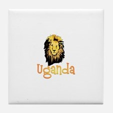 Pearl of Africa Tile Coaster