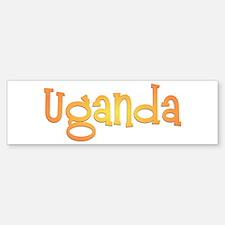 Pearl of Africa Bumper Sticker (10 pk)