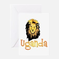 Pearl of Africa Greeting Card