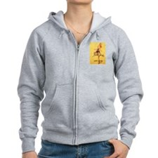 Unique Womens ireland Zip Hoodie