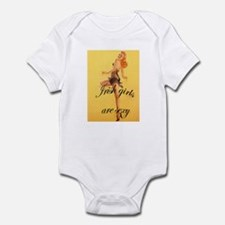 Cute Ginger pride st. patrick day redhead red head Infant Bodysuit