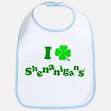 I Love Shenanigans! Bib