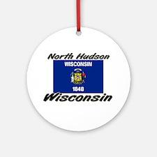 North Hudson Wisconsin Ornament (Round)
