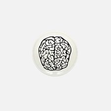 Brain Mini Button