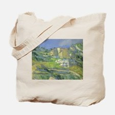 Houses in Provence by Cezanne Tote Bag