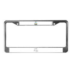 PISCES RULE License Plate Frame