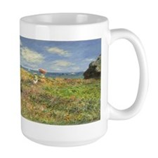 Claude Monet, Cliff Walk at Pourville Mug