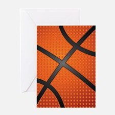Basketball Ball Greeting Cards