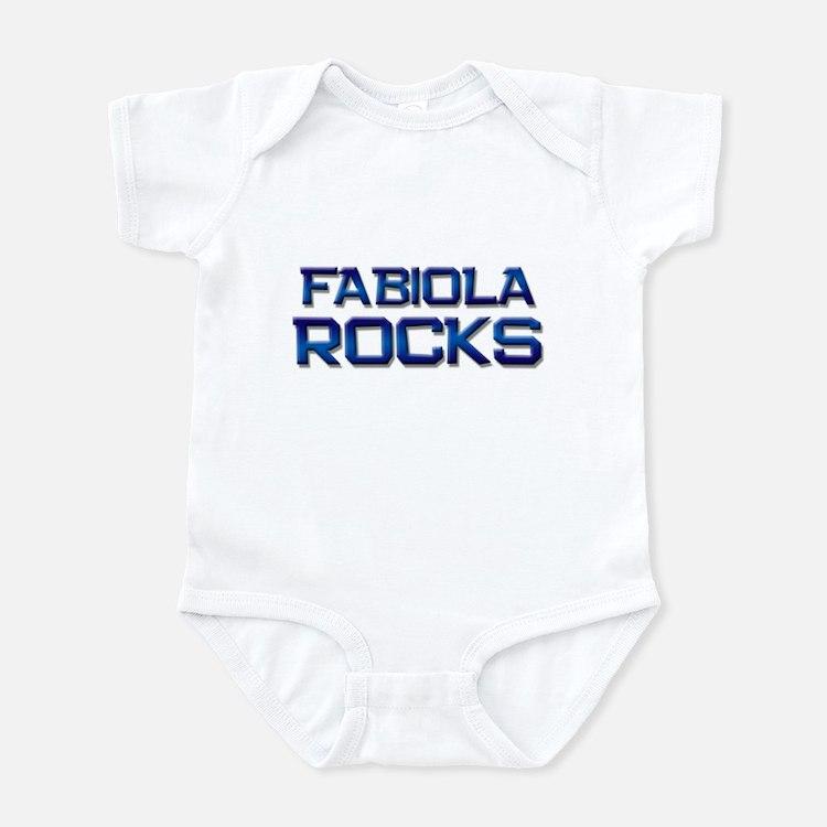 fabiola rocks Infant Bodysuit