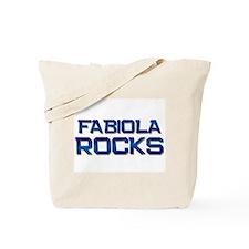 fabiola rocks Tote Bag