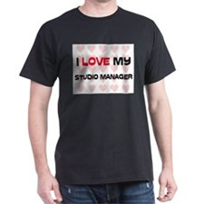 I Love My Studio Manager T-Shirt