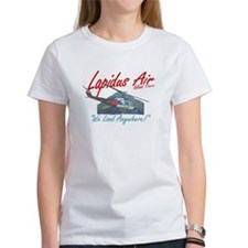 Lapidus Air Island Helicopter Tours Tee