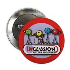 Inclusion Better Together Button