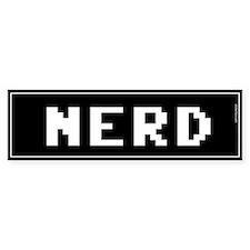 Nerd Bumper Bumper Sticker