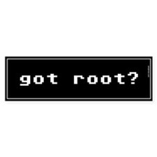 Got Root Bumper Stickers