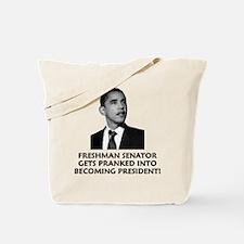 Cute Barack hussein obama Tote Bag