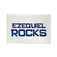 ezequiel rocks Rectangle Magnet