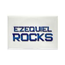 ezequiel rocks Rectangle Magnet (10 pack)